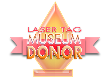 Laser Tag Museum Donor