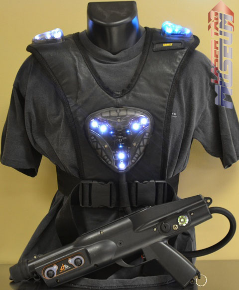 V3 Delta Strike Vest and Phaser