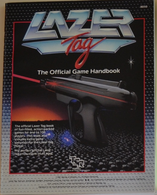 Lazer Tag Official Game Handbook