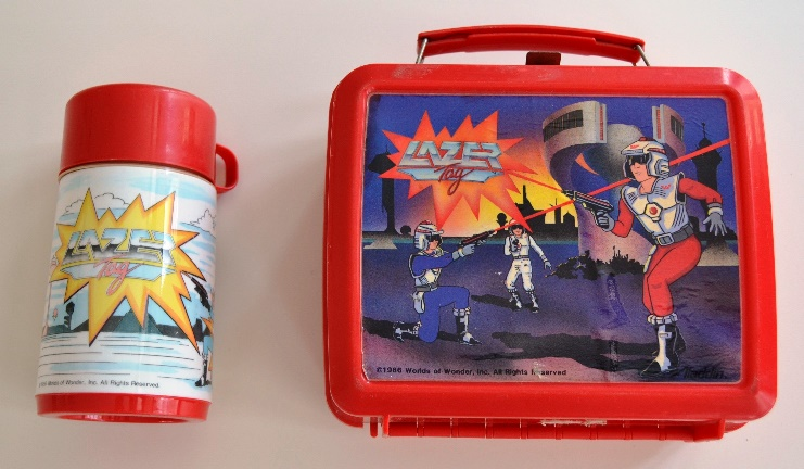 Lazer Tag Lunch Box complete with Lazer Tag Thermos