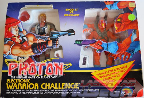 Photon Action Figure Still in the Box