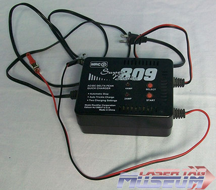 Laser Chaser Battery Charger