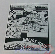 Laserforce Space Marines Brochure Front