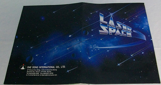 Laser Space Brochure Cover