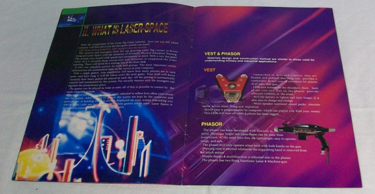Laser Space Brochure Page 2