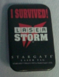Laser Storm Pin