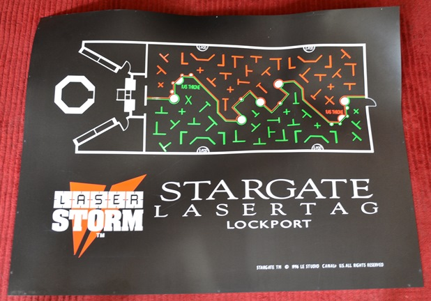 Arena Map of Laser Storm Lockport NY