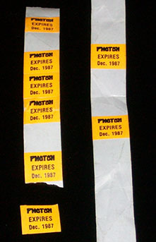 Photon Membership Experation Stickers